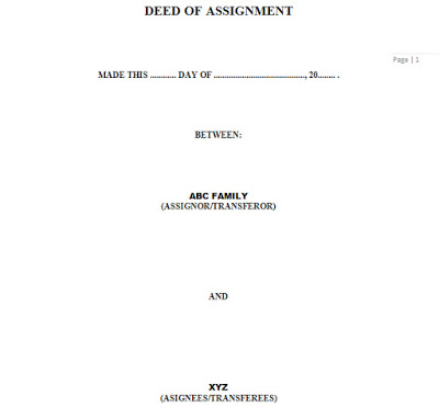 deed-of-assignment